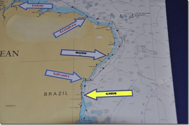 Ilheus Map