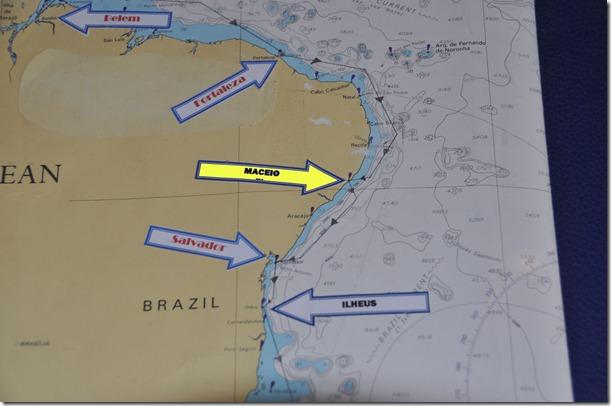 Maceio Map