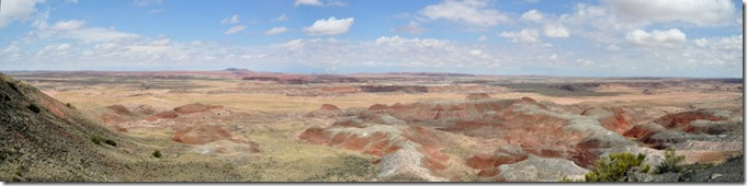 Day 5, Painted Desert, Petrified Forest National Park (5/6)